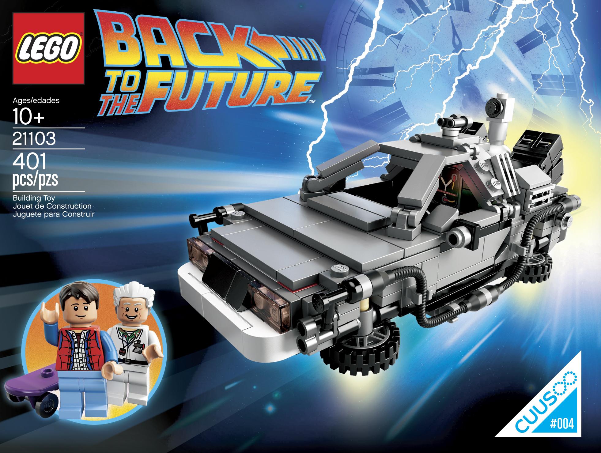 Lego 21103 Back To The Future Time Machine Leganerd