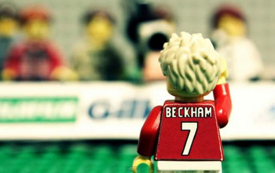Beckham: Il video tributo alla carriera... con i Lego