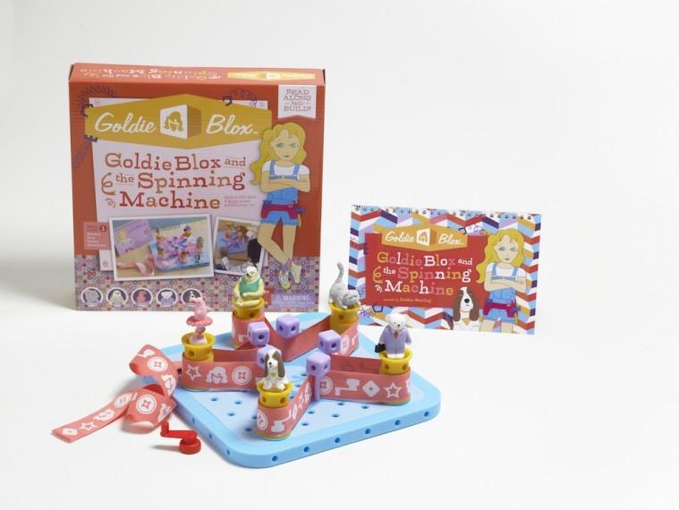 GoldieBlox i giocattoli per giovani ingegnere