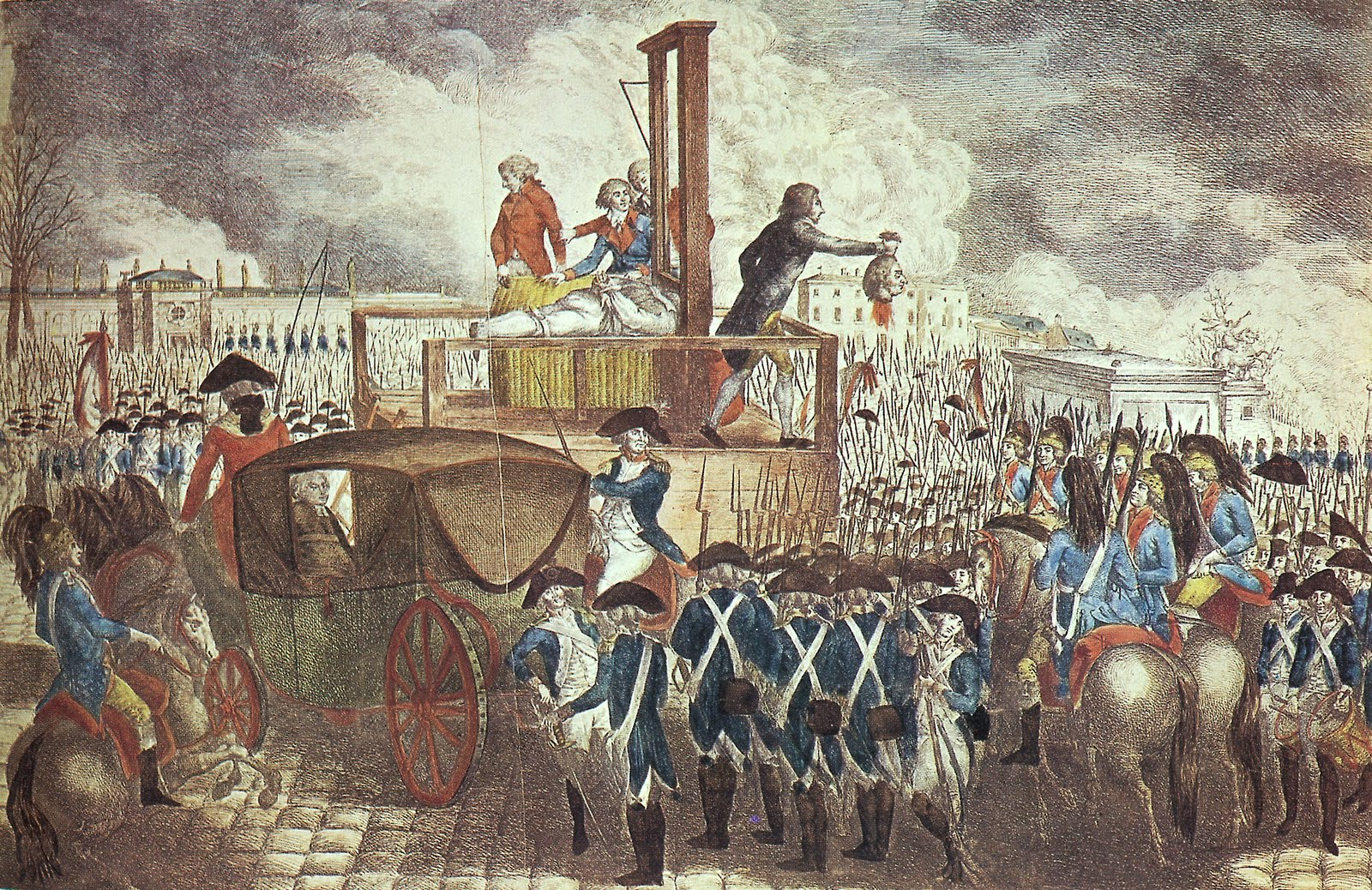 Leggende sulla Rivoluzione: teste viventi e templari sul patibolo