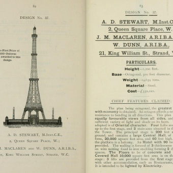 the great tower for London (1890)
