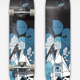 Star Wars Skateboard