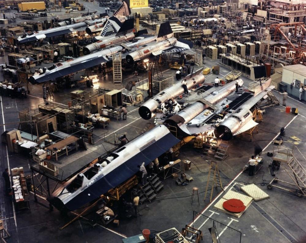 SR-71: la Costruzione