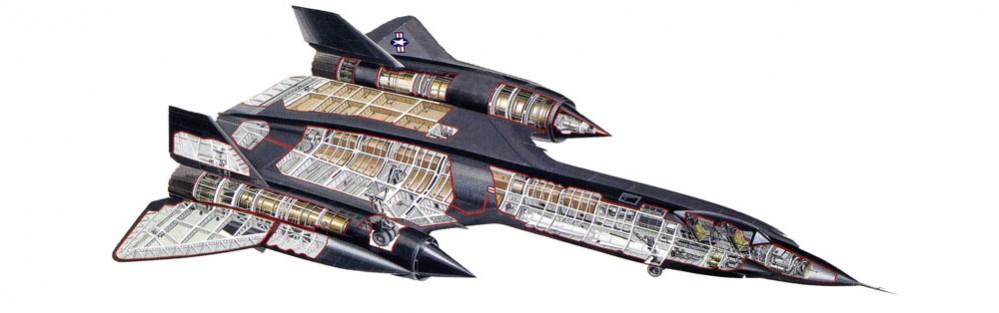 Lockheed-SR71-Blackbird-Cutaway
