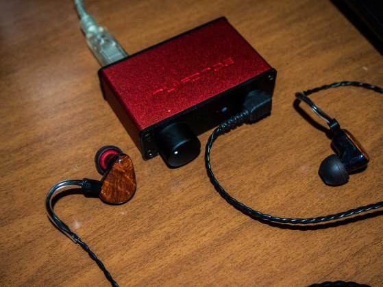 Setup di prova: uDac2 con Heir Audio A4.I