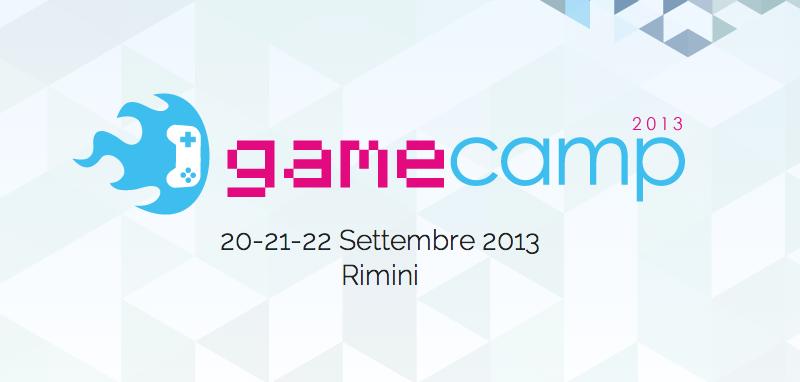 GameCamp 2013 Rimini