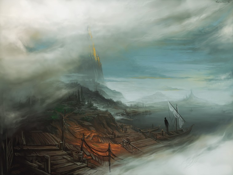 mists of earthsea by ~KalaNemi