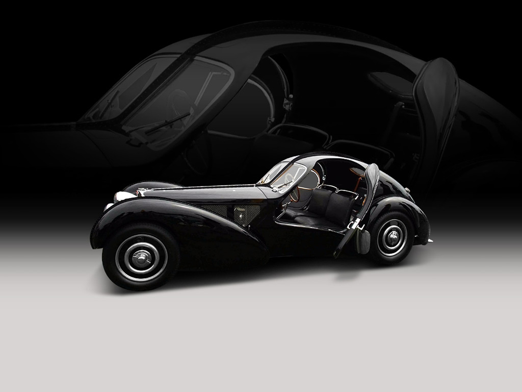 Classic bugatti type 57