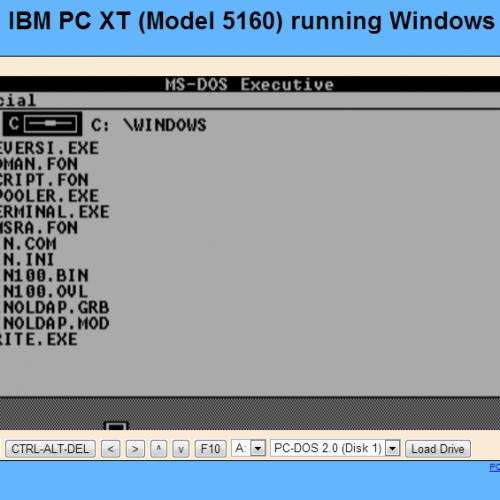 Rivivete Windows 1.01 nel vostro browser