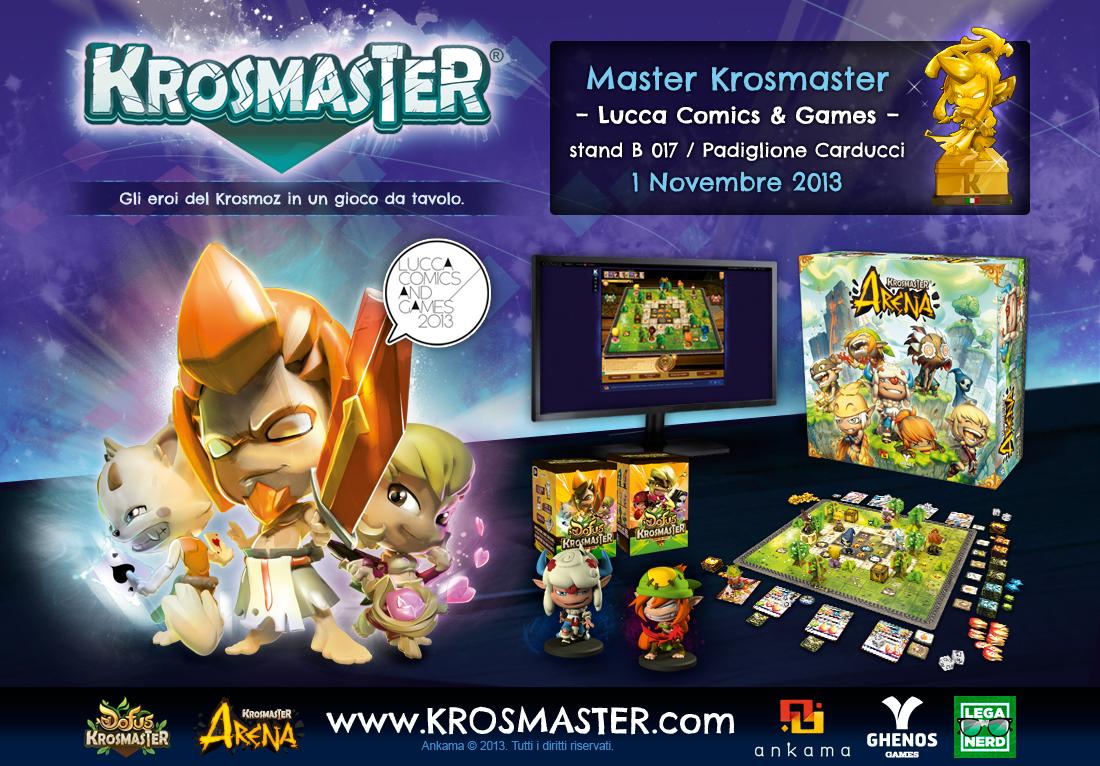 Master Krosmaster 2013 a Lucca Comics & Games