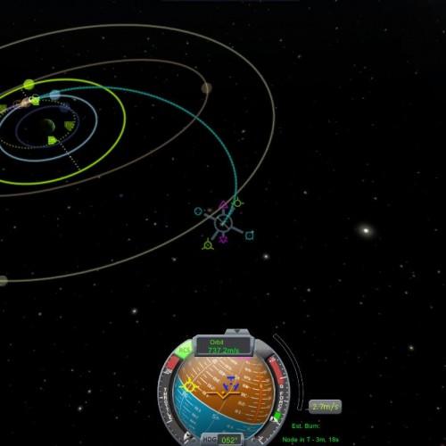 """La rappresentazione delle orbite e i """"nodi di manovra"""
