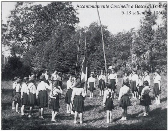Accantonamento Bosco diTretto 1960