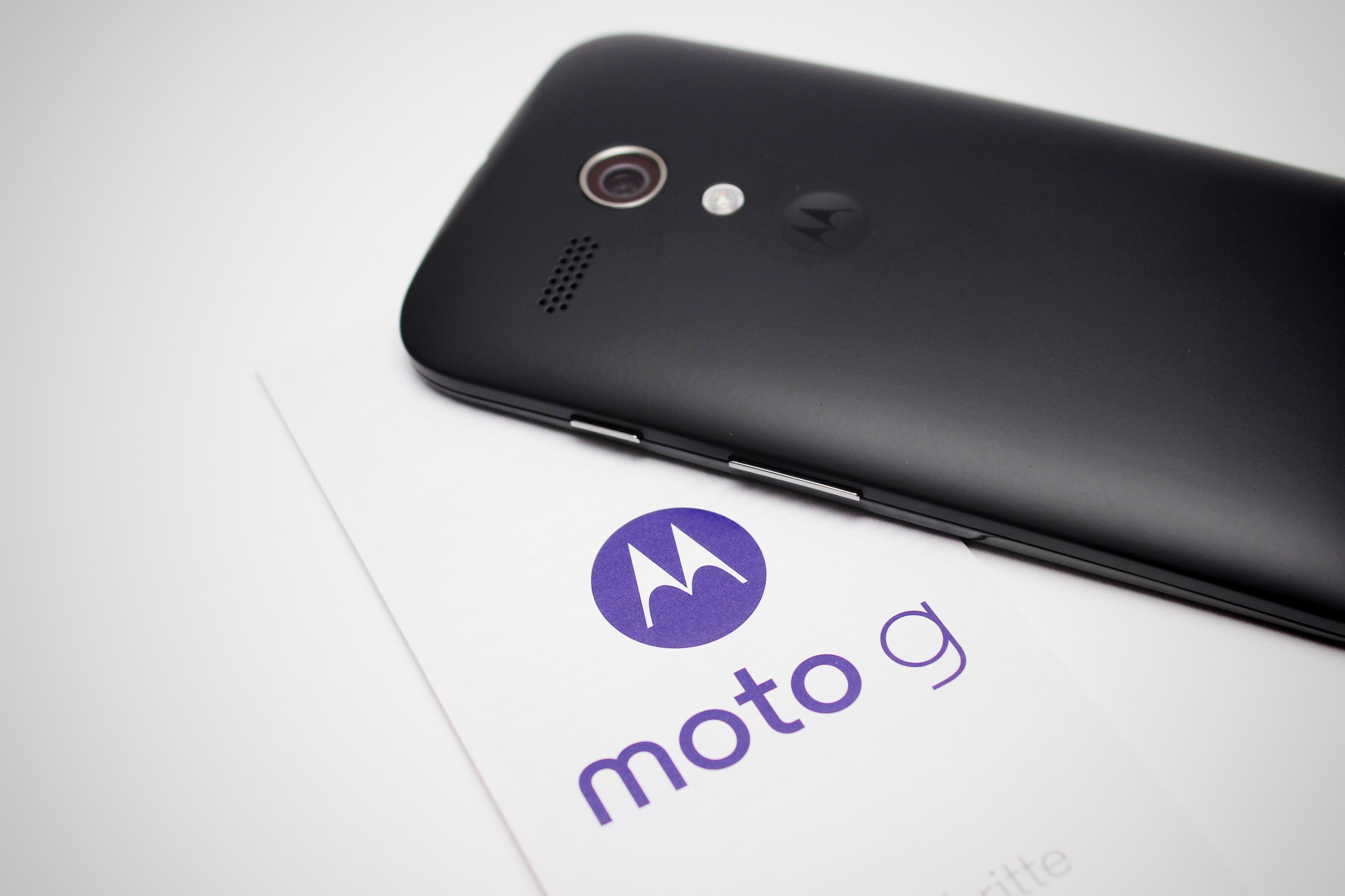 Motorola Moto G: prime impressioni