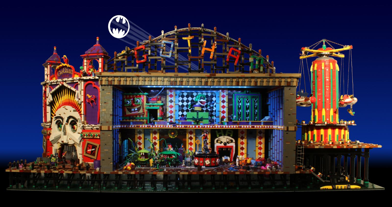 Lego Joker's Funhouse