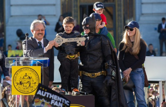 San Francisco Helps Miles' Wish To Be A Superhero Come True!