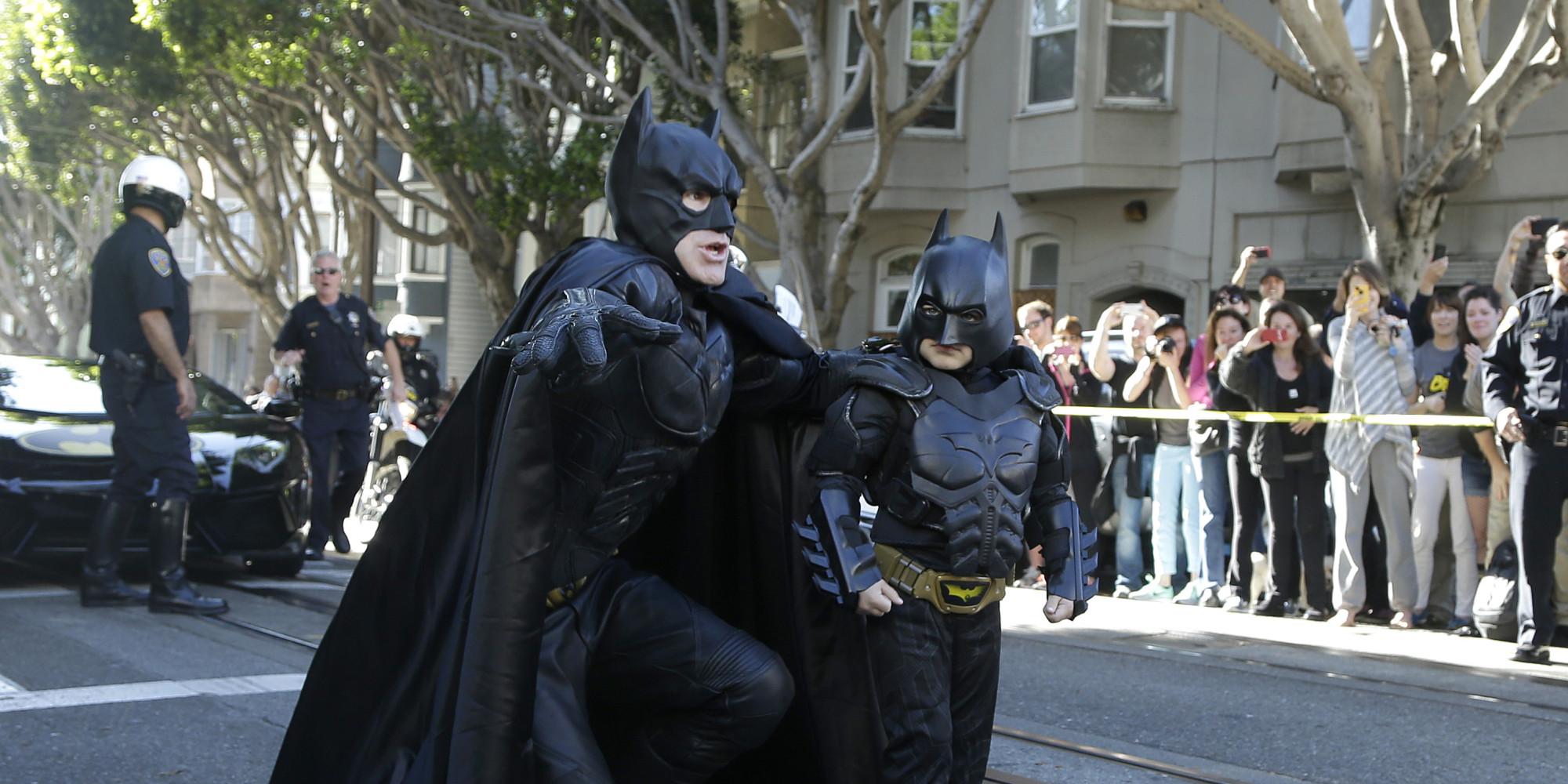 Batkid, supereroe di Gotham City per un giorno