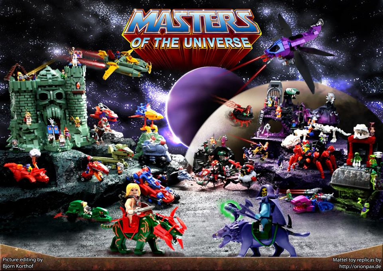 Lego Masters of the Universe
