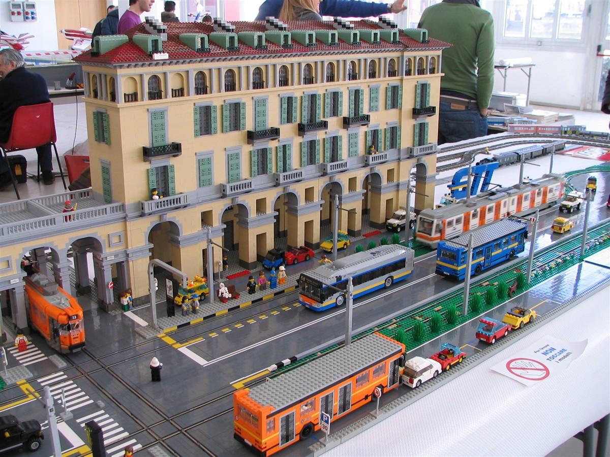 Corso Vittorio Emanuele II di Torino in Lego