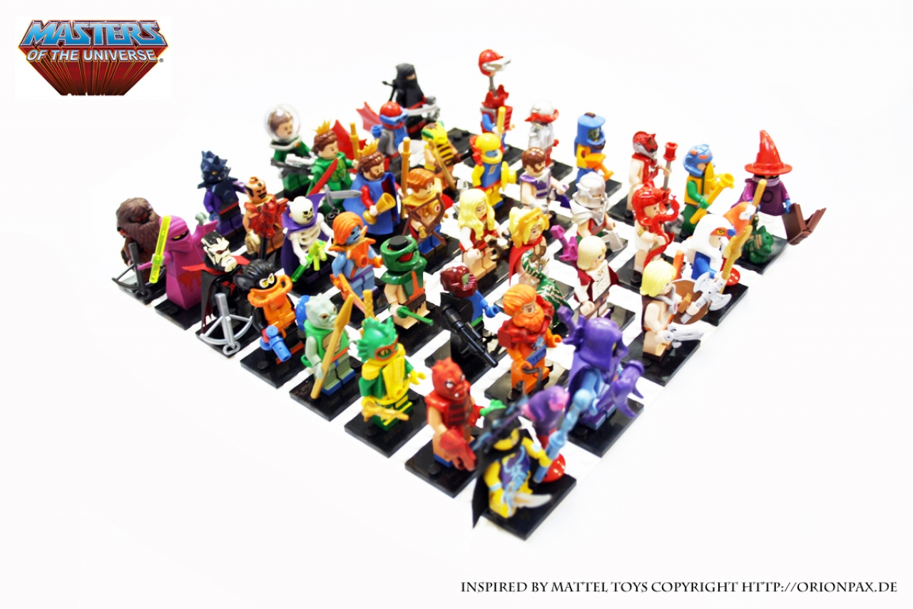 Lego, Motu, He-Man, Masters of the Universe, Have the Power, Orion Pax, Lego, Motu, He-Man, Masters of the Universe, Have the Power, Grayskull,MARK TAYLOR,SKELETOR,TEELA, ORKO,LEGO HE-MAN