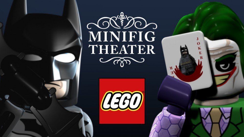Lego minifig theater by Brian Anderson
