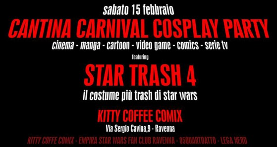 Cantina Carnival-Cosplay Party 2014
