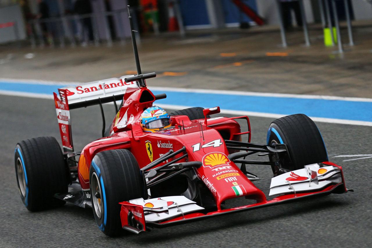 F1 2014: Formichieri alla griglia di partenza