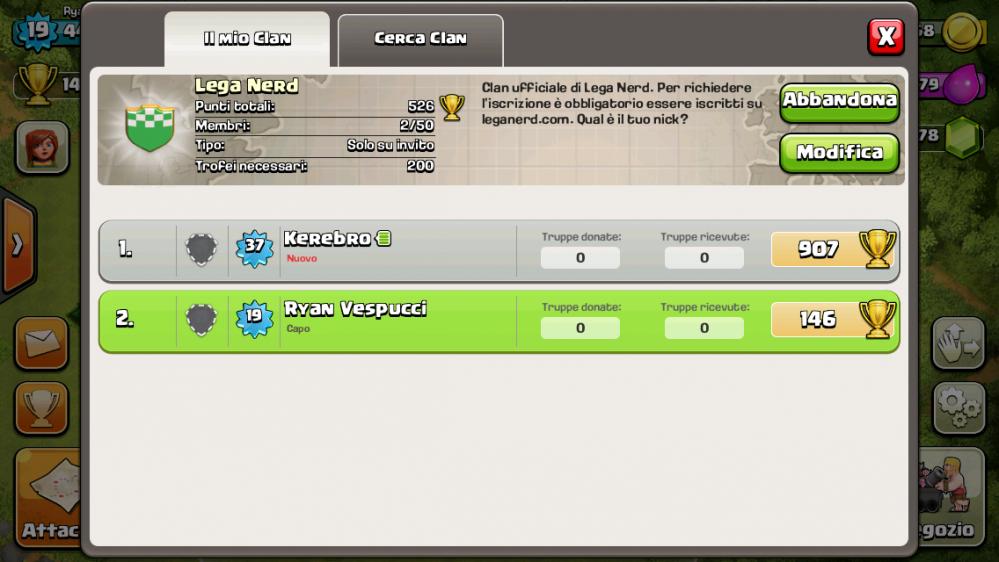 Il clan ufficiale
