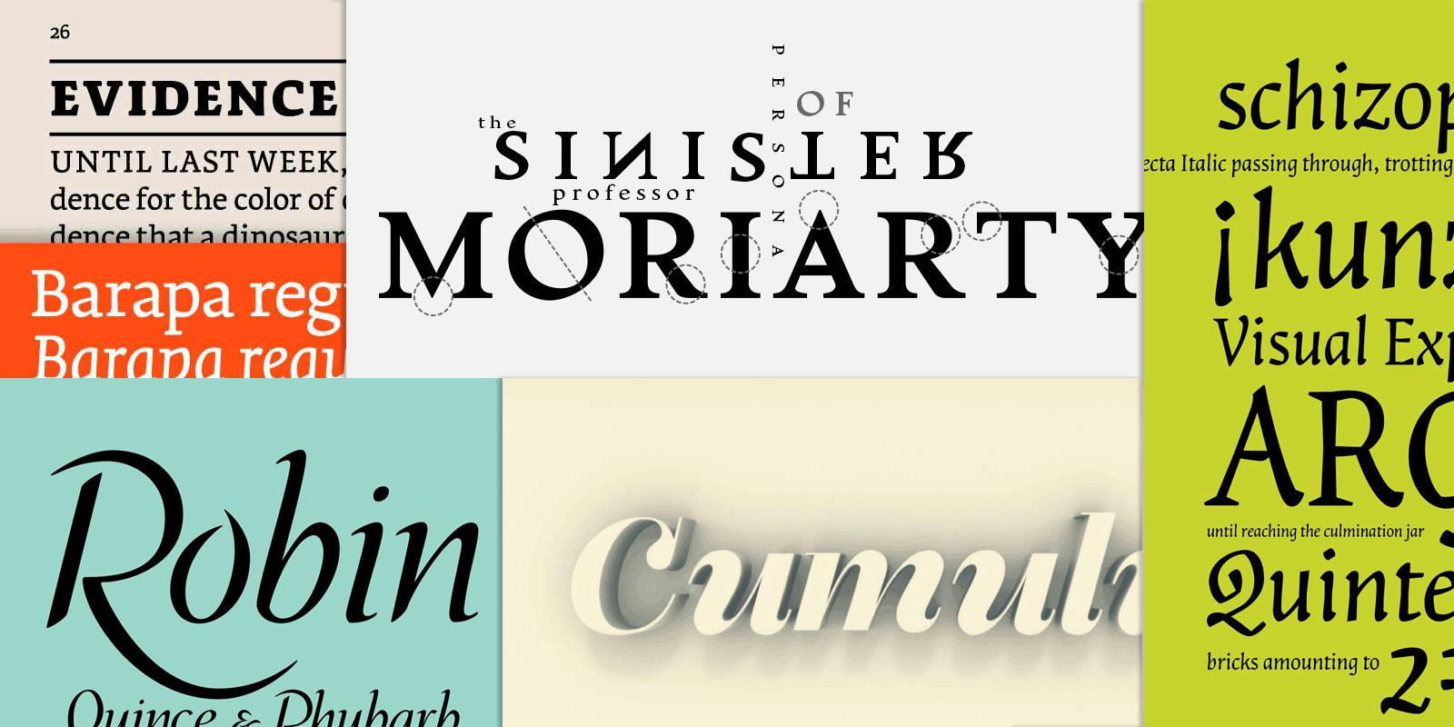 Il Font, struttura ed espressione
