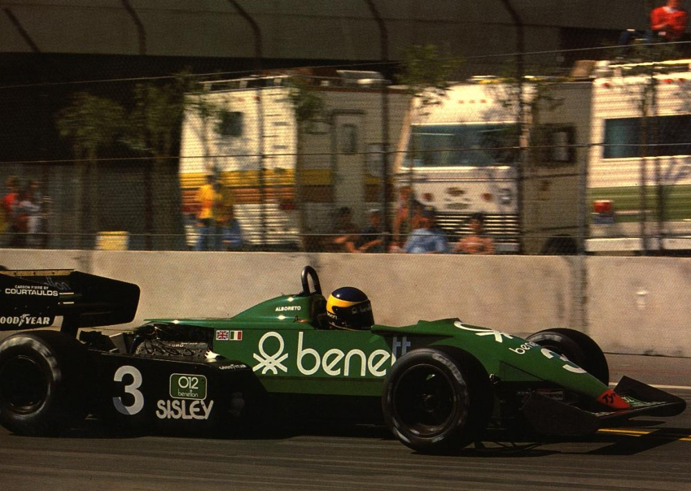 Tyrrell 011B Michele Alboreto 1983