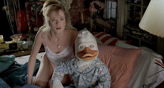 howard the duck movie beverly bed