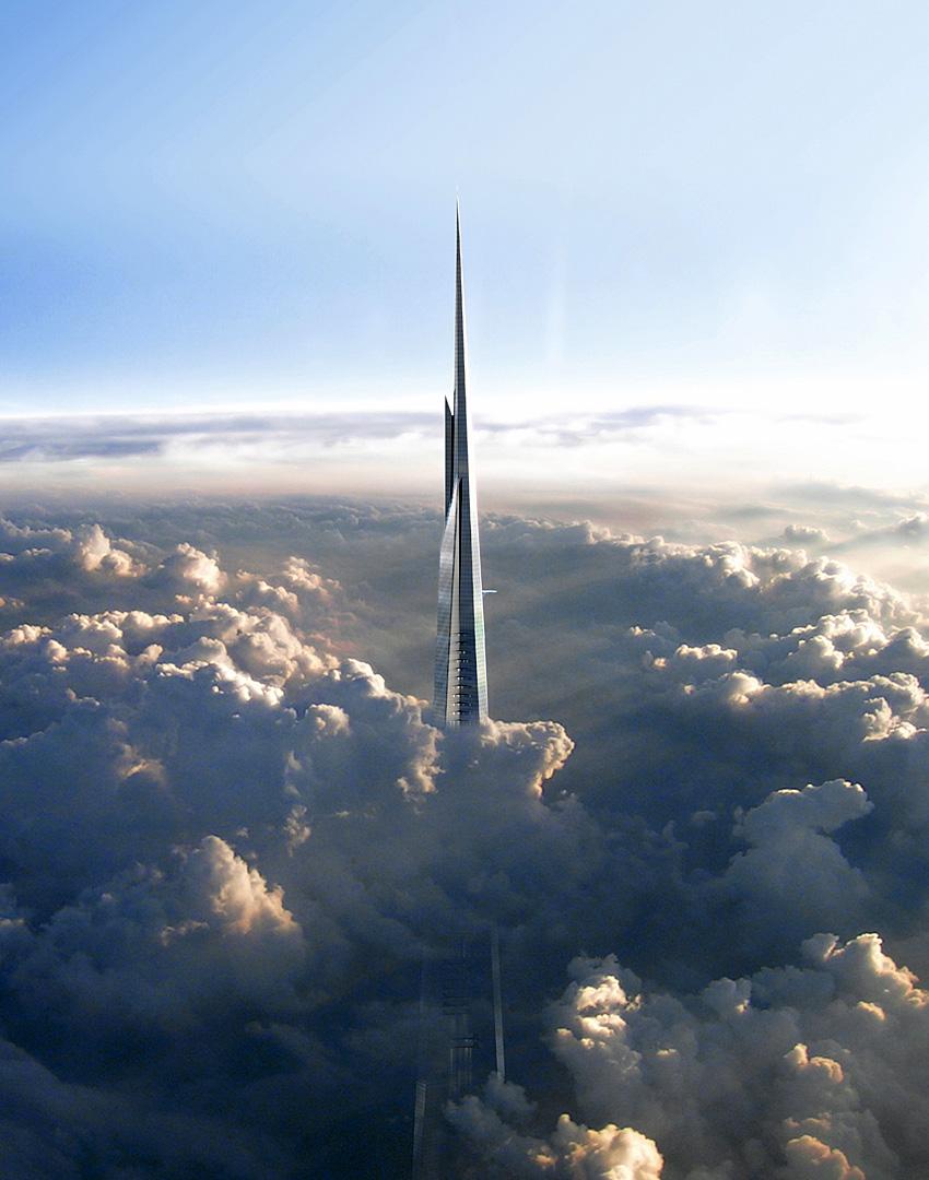 Kingdom Tower, l'edificio del più alto del mondo