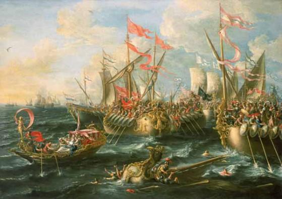 Battaglia di Azio,2 settembre 31 a.C.