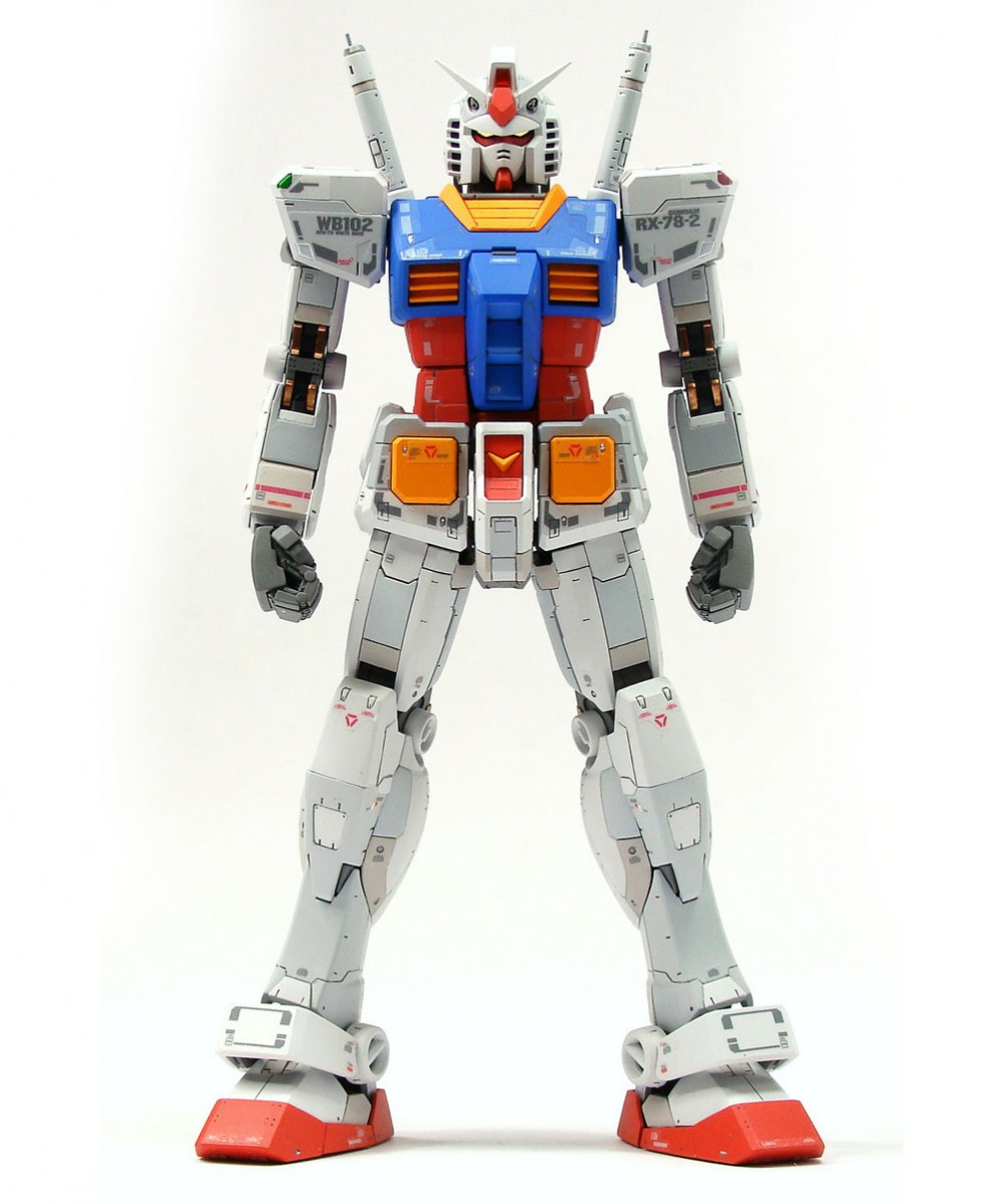 RG rx-78-2 gundam painted build by Chorock (1)