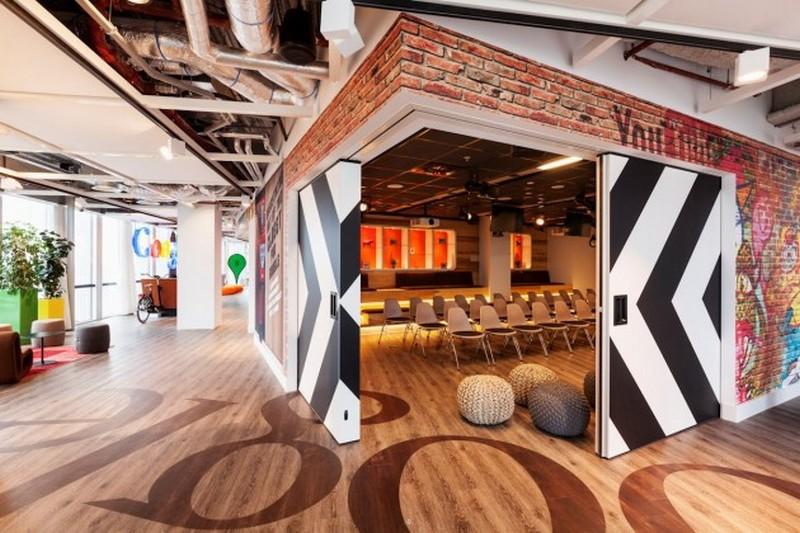 La sede di Amsterdam di Google