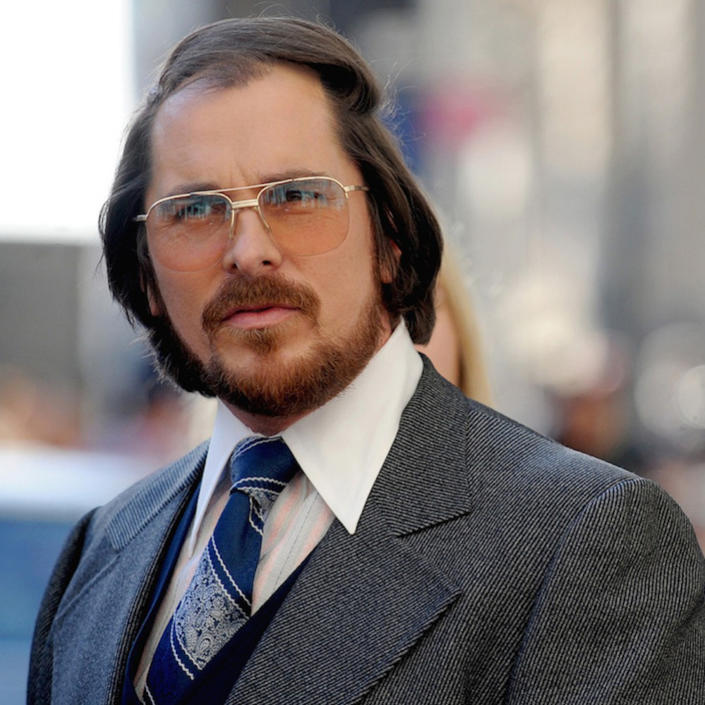 The cast of 'American Hustle' filming