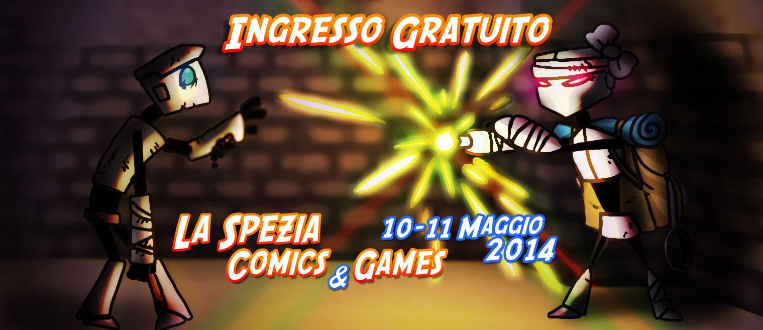 La Spezia Comics and Games 2014