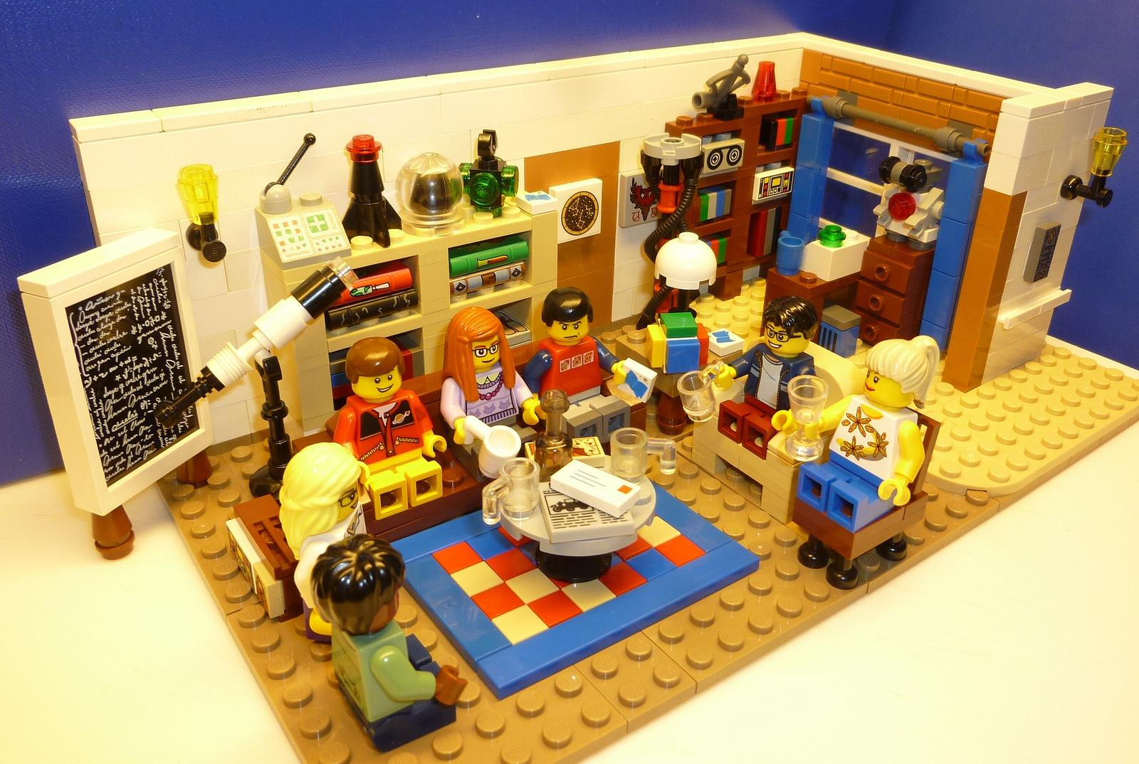 Il set Lego Cuusoo dedicato a The Big Bang Theory