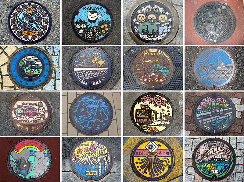 I Tombini Artistici del Giappone
