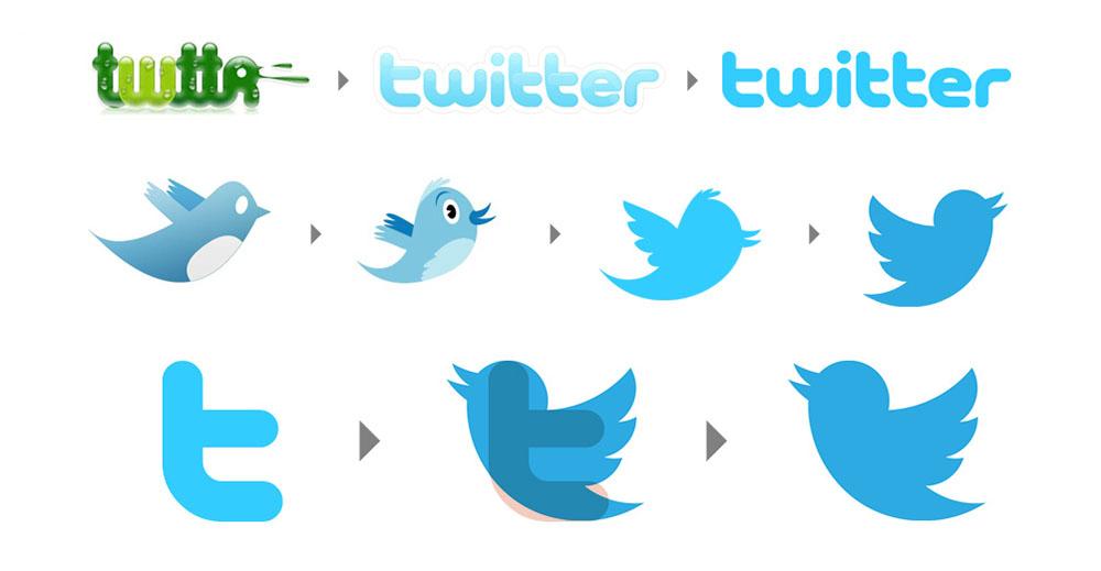 La storia illustrata di Twitter
