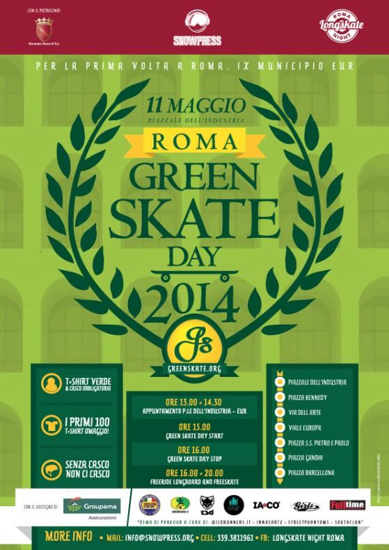 Green Skate Day Roma - 11 Maggio 2014