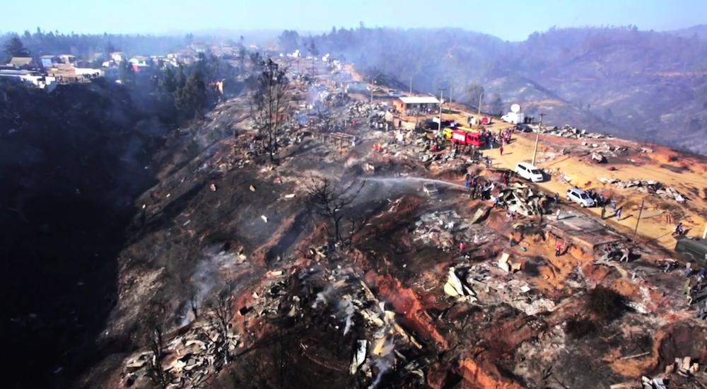 L'incendio di Valparaíso