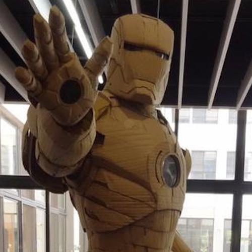 Iron Man di Cartone in scala 1:1