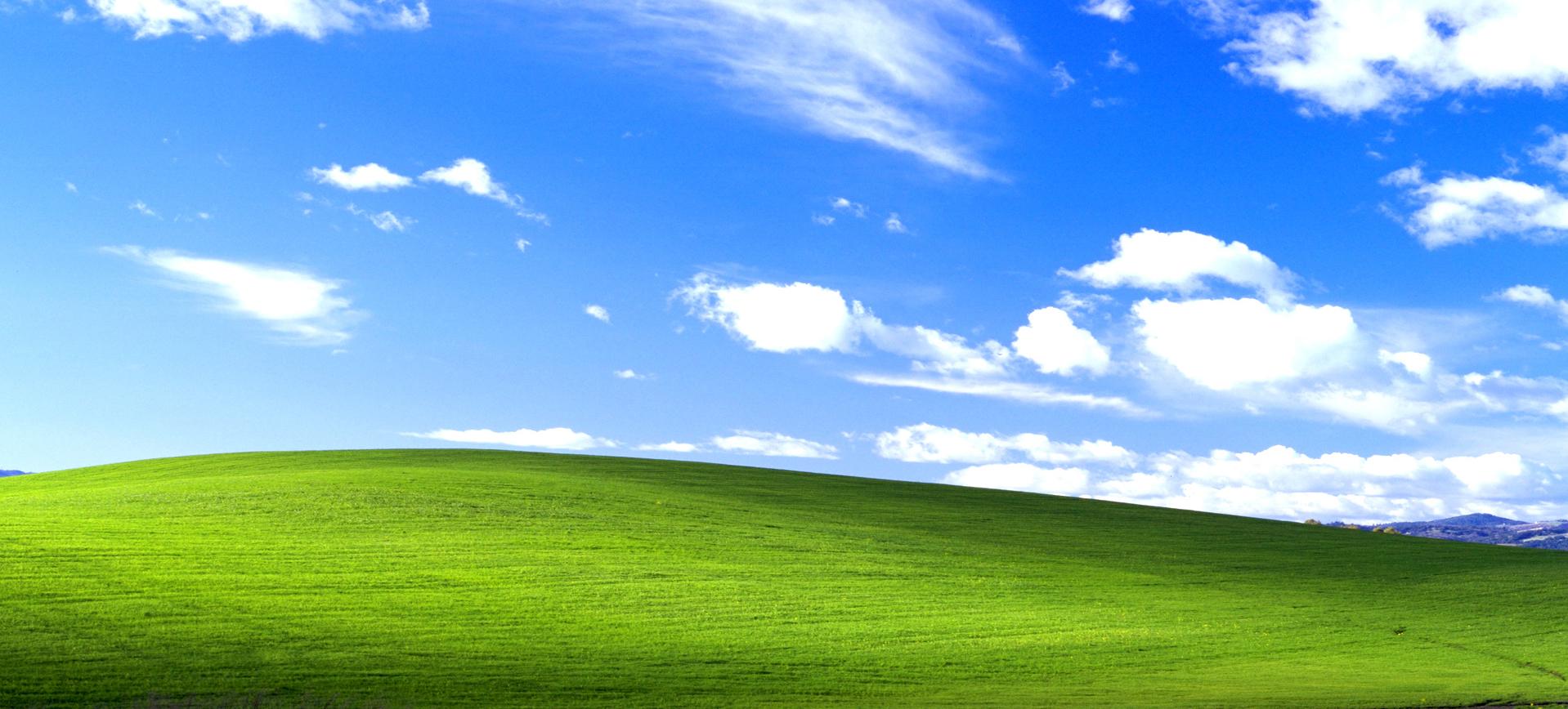 Come è nata la foto che è diventata lo sfondo più famoso al mondo