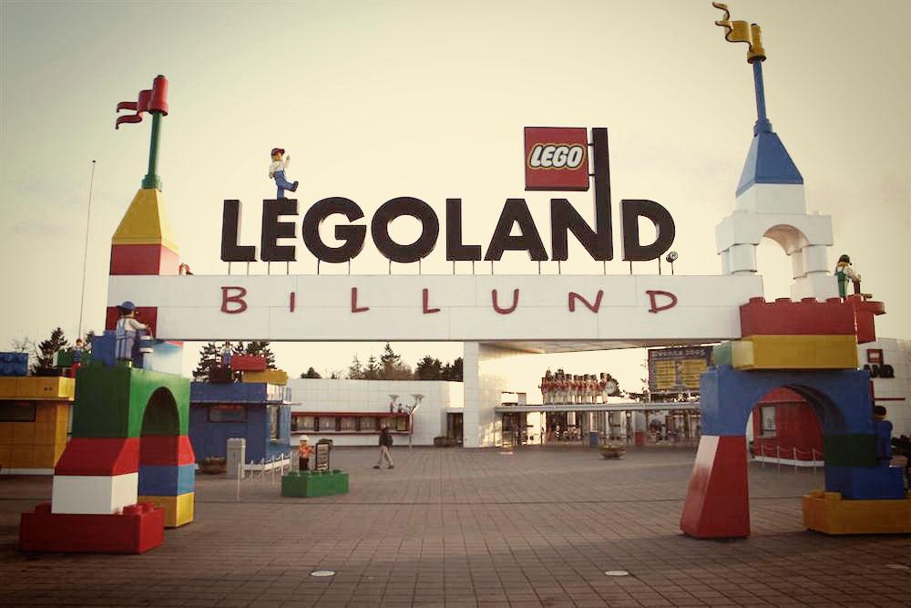 L'inaugurazione di Legoland a Billund nel 1968