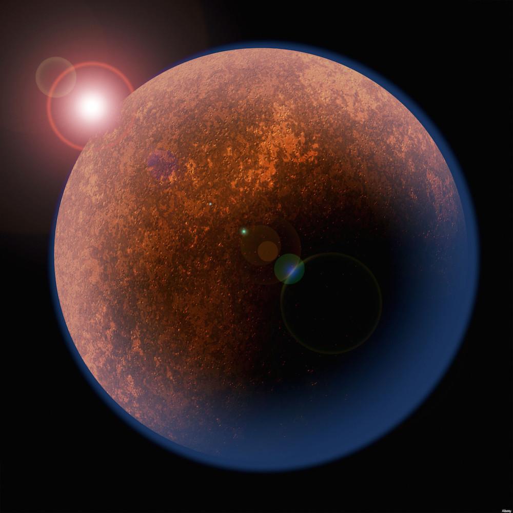 Una strana luce su Marte