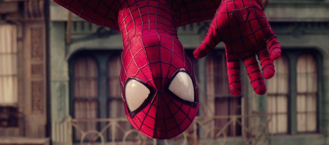 Spiderman per Evian