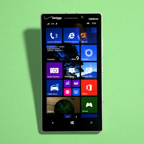 Windows phone 8.1 features. Photo: Josh Valcarcel/WIRED