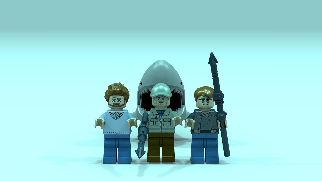 Jaws Lego 40th Anniversary Set