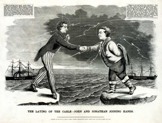 1858-Baker-Laying-of-the-Cable
