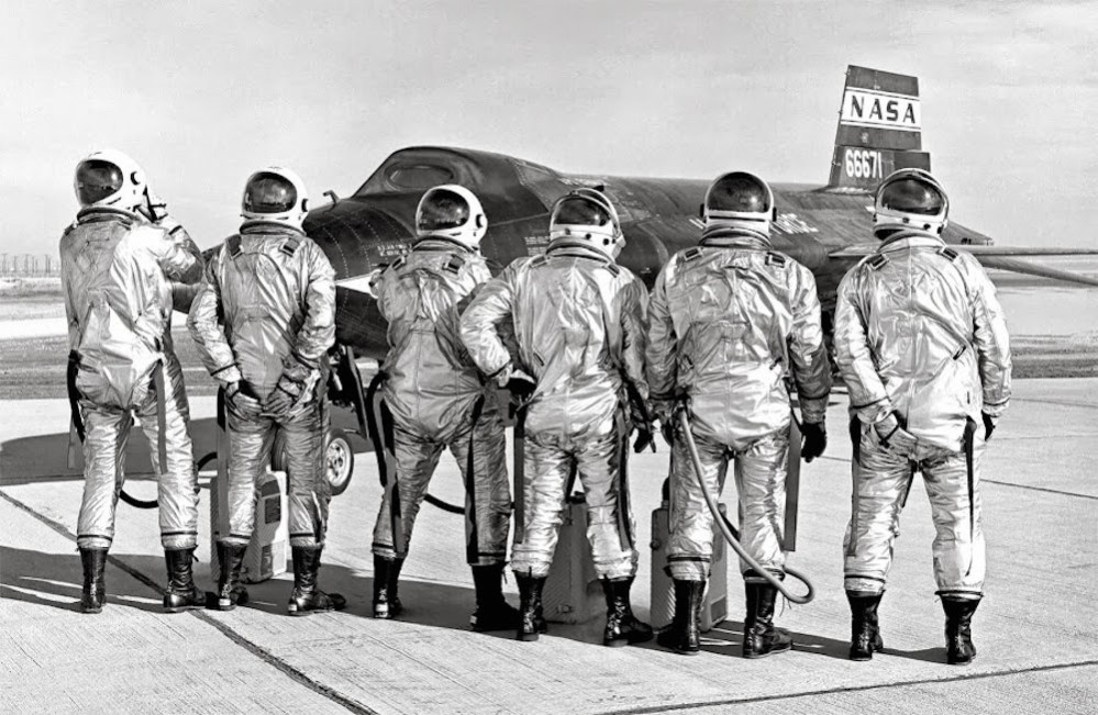 NASA-X-15-Pilots-1966